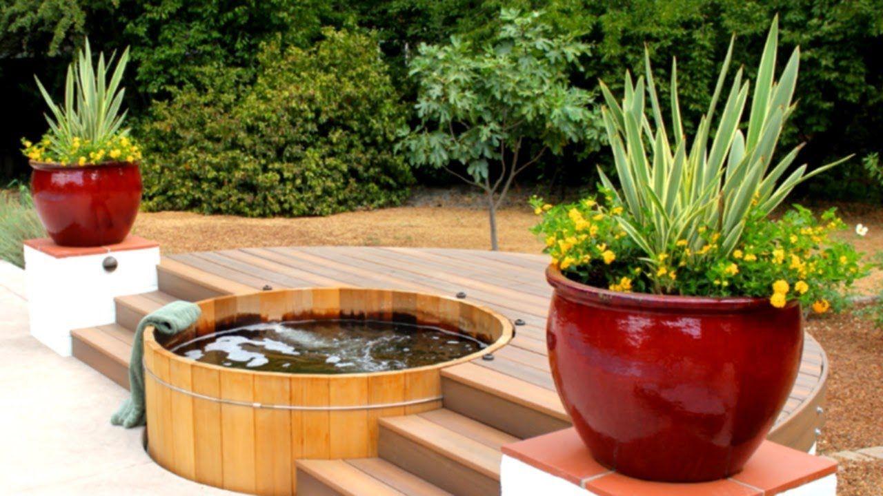 39 Impressive Outdoor Hot Tub Ideas Hot tub garden, Hot