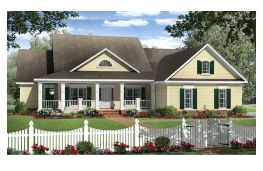 Country Style House Plan 4 Beds 2 5 Baths 2204 Sq Ft Plan 21 304 Country Style House Plans Country House Plans House Plan Gallery