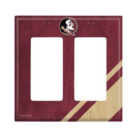 Florida State Seminoles Double Rocker Light Switch Cover