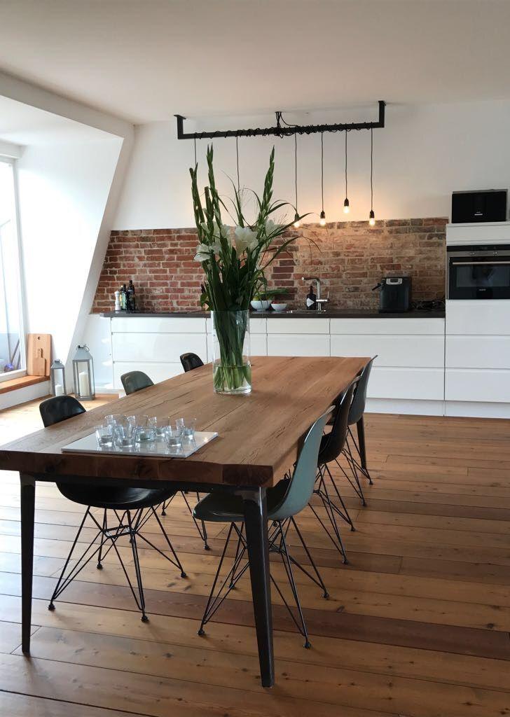 Esstisch / Massivholztisch / Tisch / Table www.holzwerk-hamburg.de - #Esstisch #Massivholztisch #table #Tisch #wwwholzwerkhamburgde #HomeDecorIdeasCute