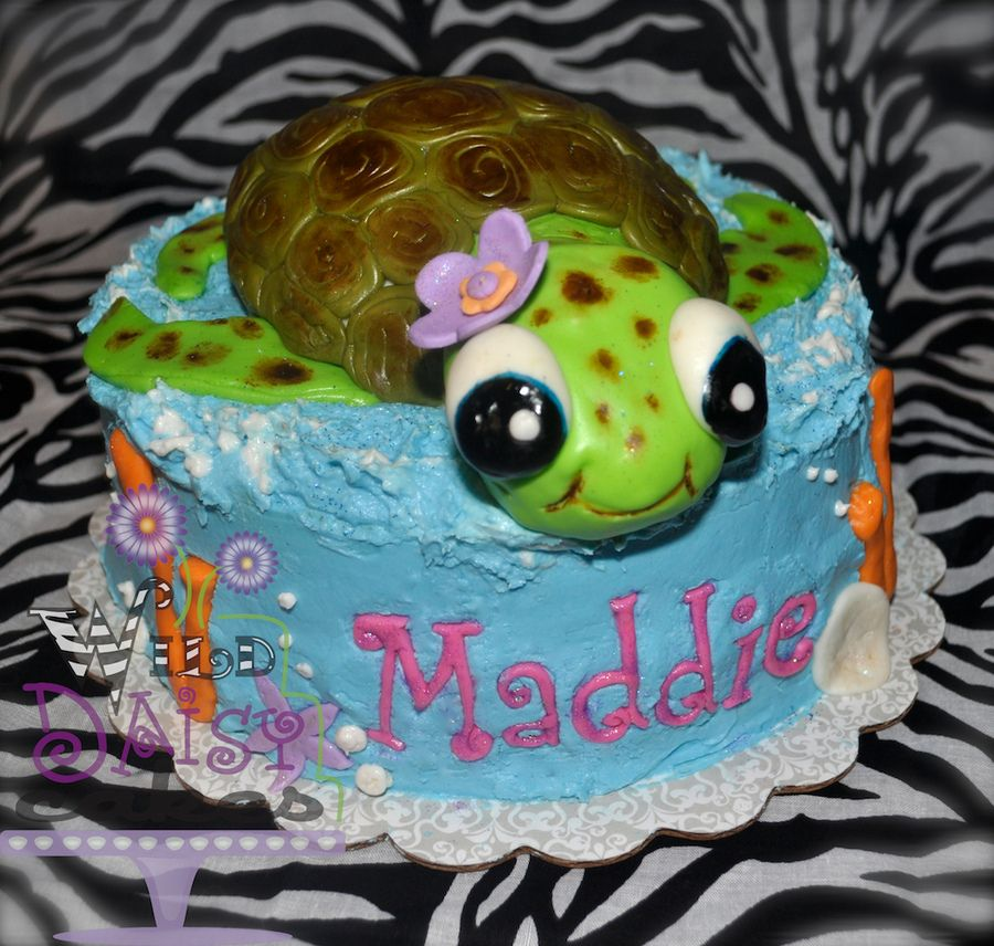 Sea Turtle Cake 3d Lots Of Fun To Make Is