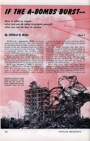 If the A-Bombs Burst (Jan, 1951)