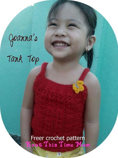 Crochet Patterns Galore Joannas Tank Top Crochet Baby And Child