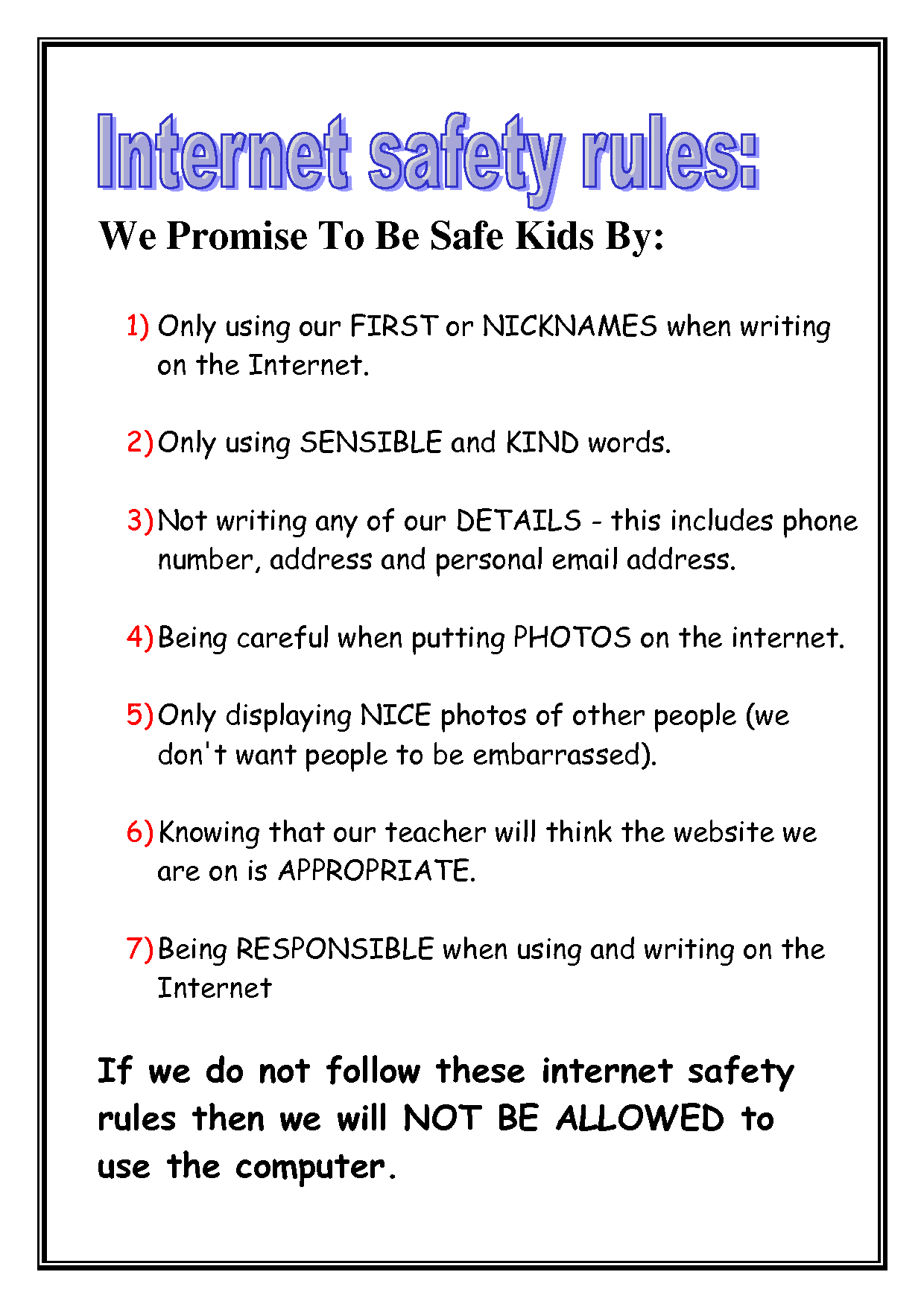 Personal Safety In The Community Tips