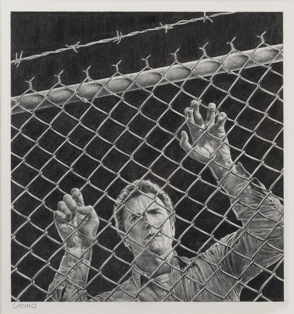 Escape From Alcatraz 1979 Concept Artwork Us Original Film