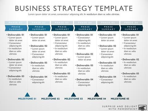 Business Strategy Template | Pinterest | Template and Layout design