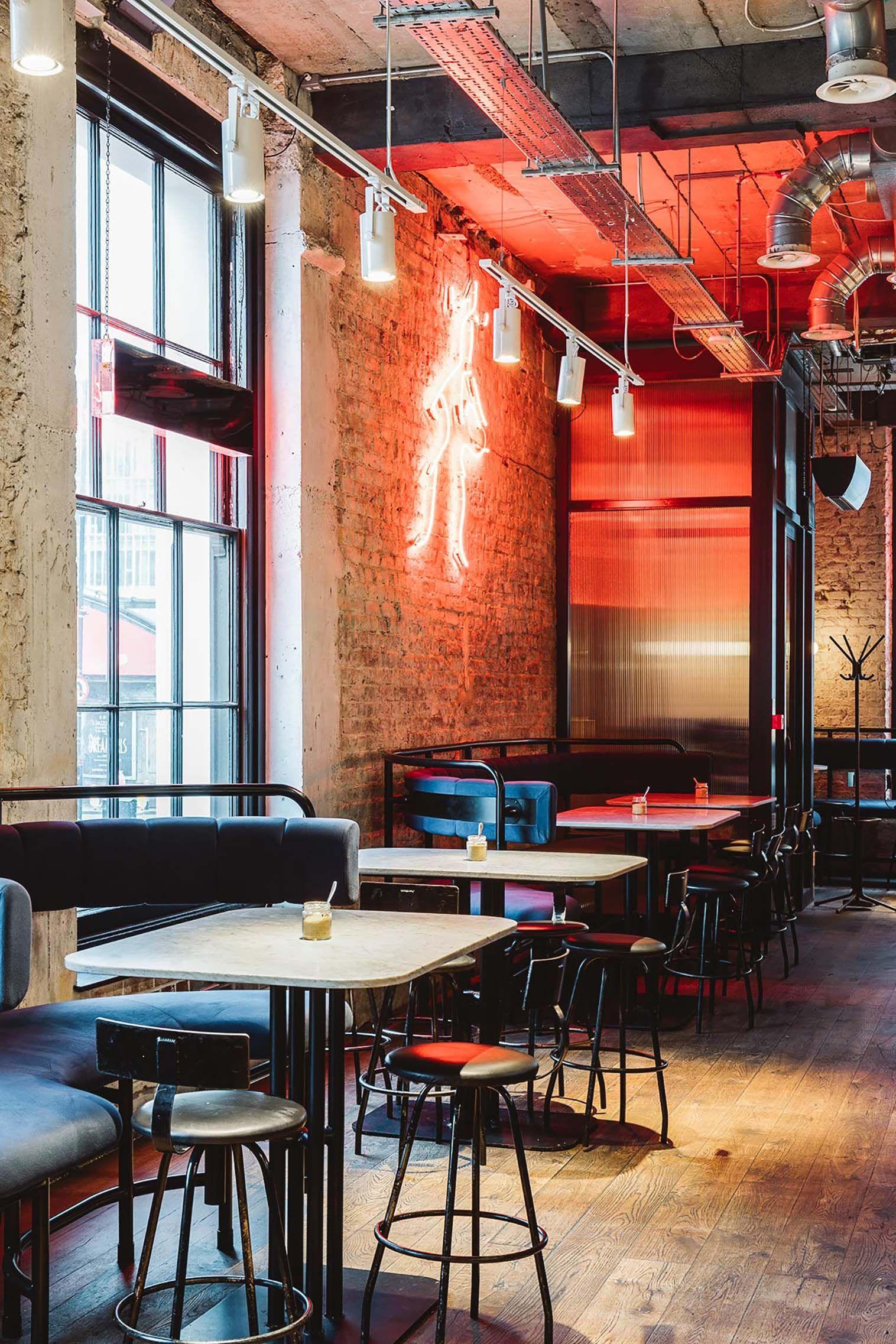 You Can Have Brunch Inside An Old Bank On London Bridge Cafe Design London Bridge Oak Timber Flooring