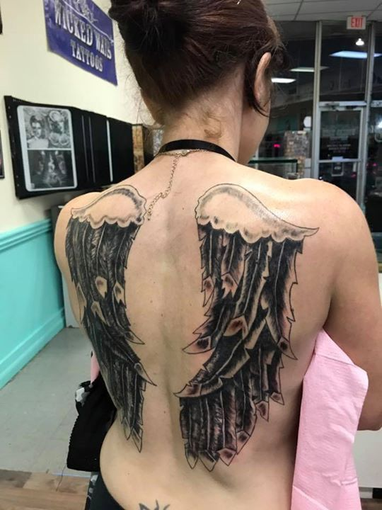 session tattoo by randy