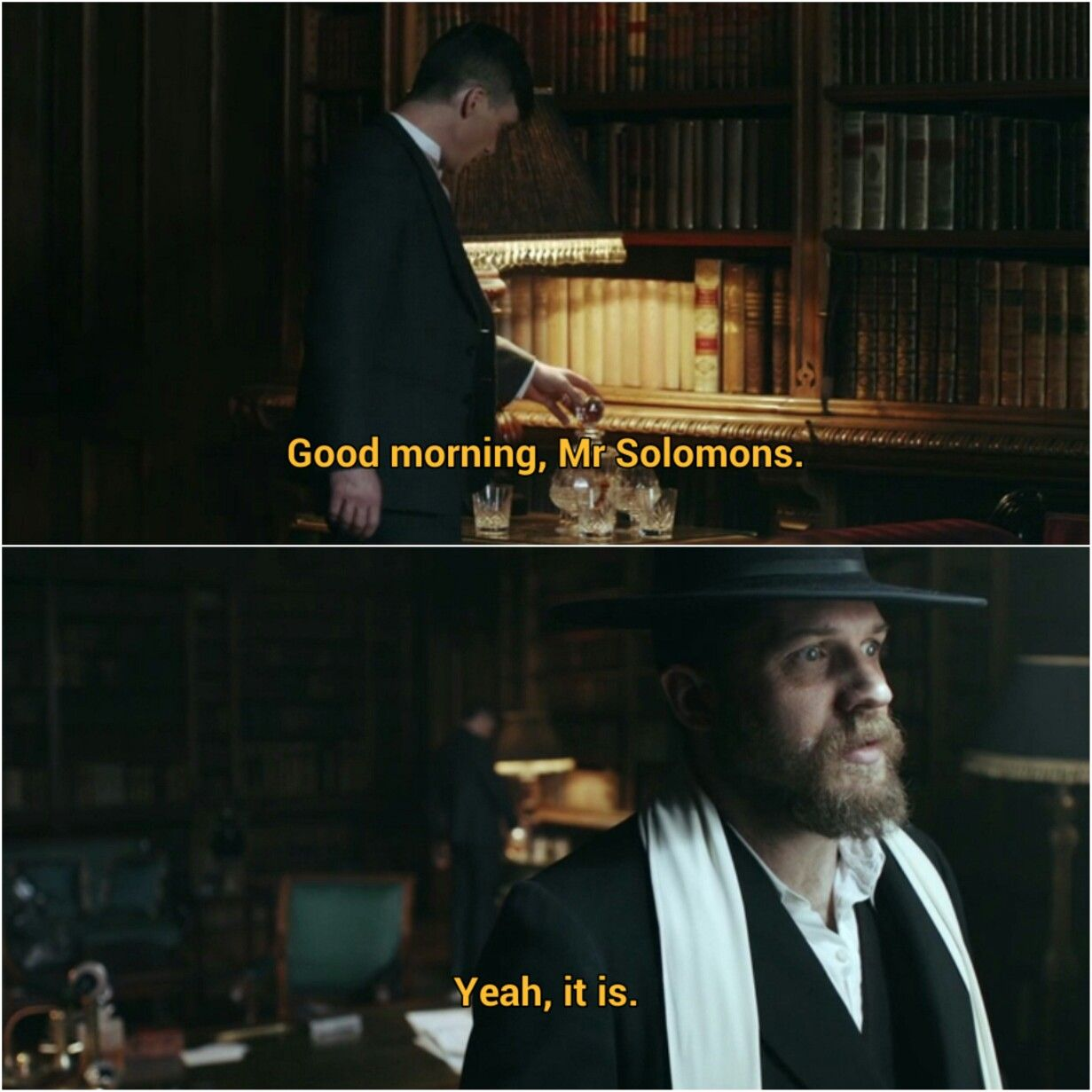Solomon and Thomas Shelby | Peaky blinders quotes, Peaky ...