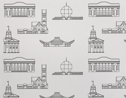 """Check out new work on my @Behance portfolio: """"Architectural Icons of Minsk"""" http://on.be.net/1BoPNxA"""