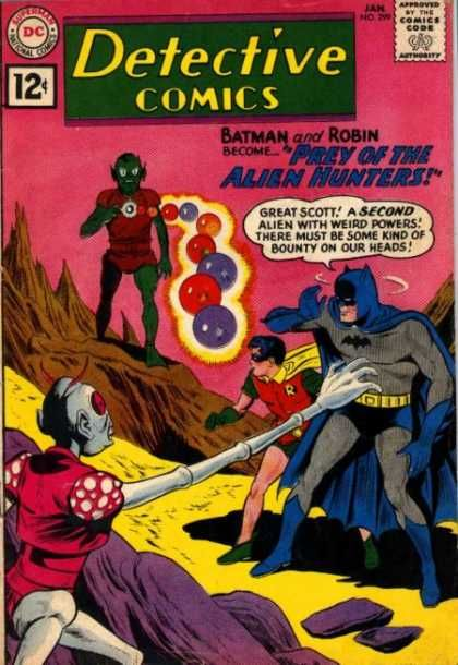 Batman - Robin - Dc Comics - No 299 - Aliens