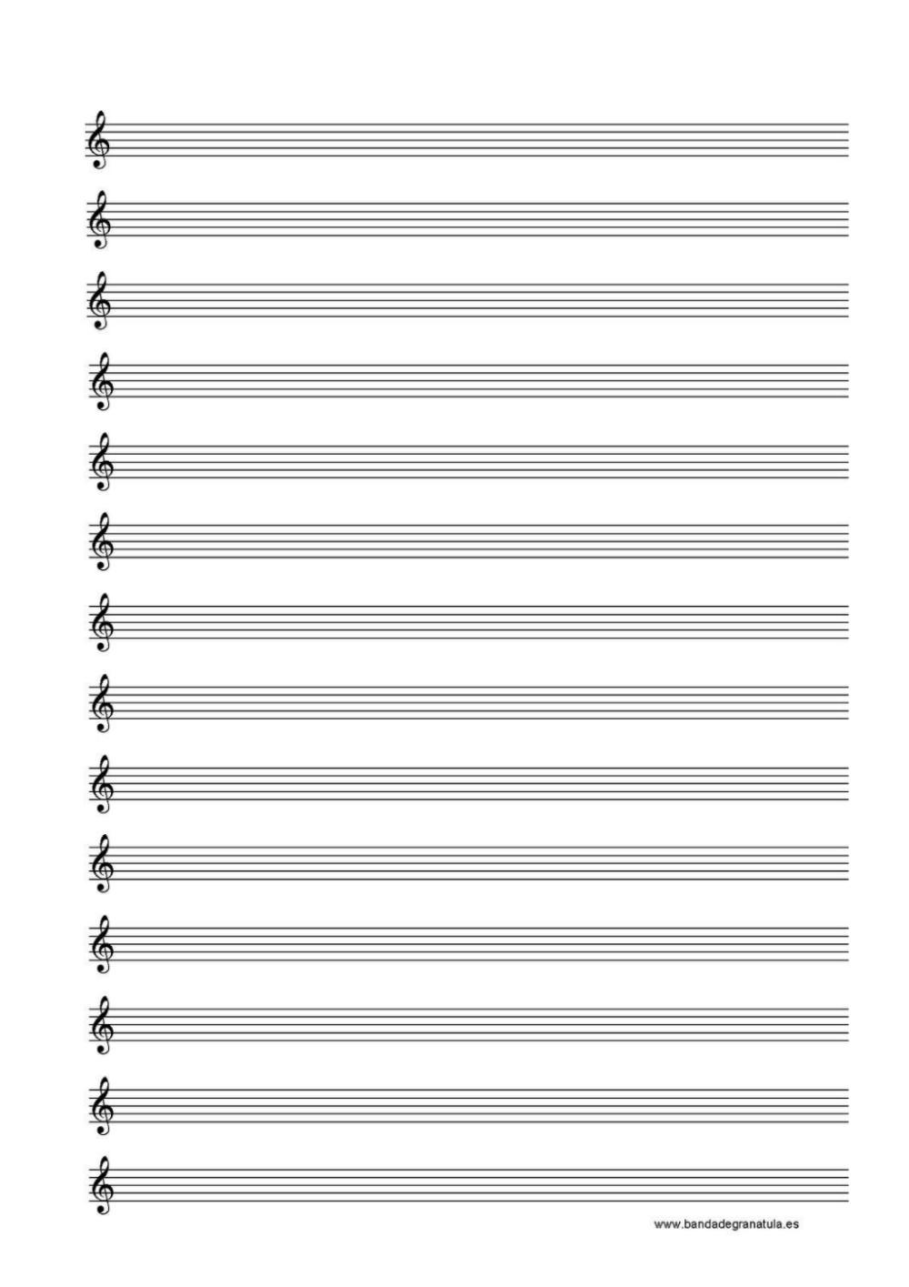 Folha De Partitura Musical Modelo 1 Pdf Google Drive
