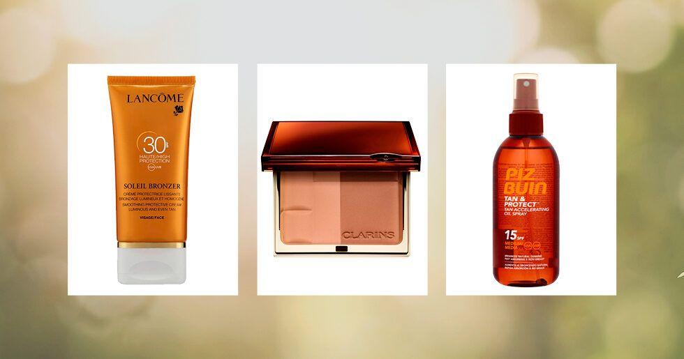 solskyddsfaktor med brun utan sol