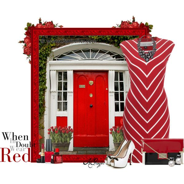 """""""Red Red Red Contest"""" by kginger on Polyvore"""