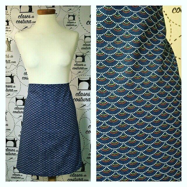 Nos encanta la tela de la primera falda de Alba! Opináis lo mismo? #primerafalda #estampadosbonitos