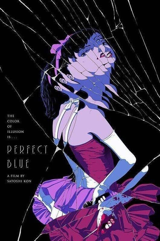 Perfect Blue 1997 In 2020 Aesthetic Anime Blue Anime Blue Poster