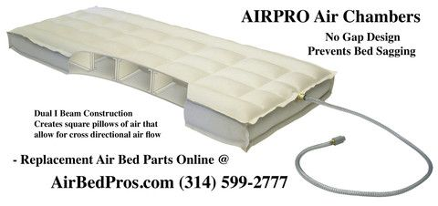 Airpro Air Chambers With Images Air Bed Bed Parts Sleep Number Bed