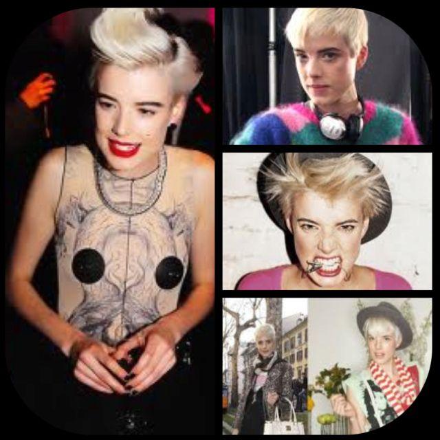 Style icon- Agnes Deyn❤