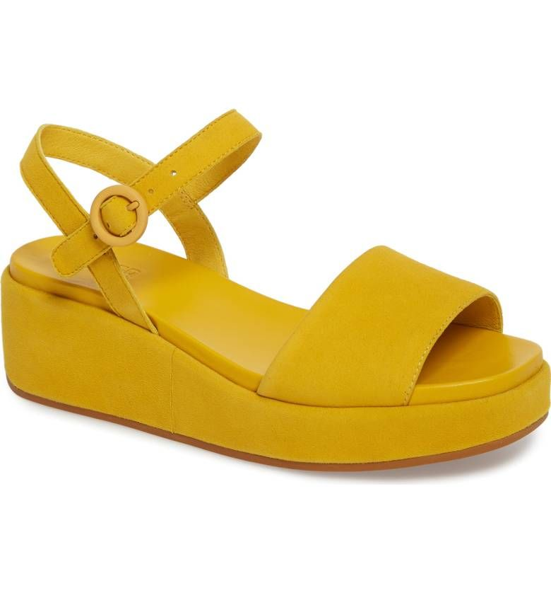33c37767e7f Main Image - Camper Misia Platform Wedge Sandal (Women)