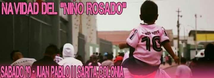 """Barra Popular """"Juventud Rosada"""". Diciembre 18, 2015."""
