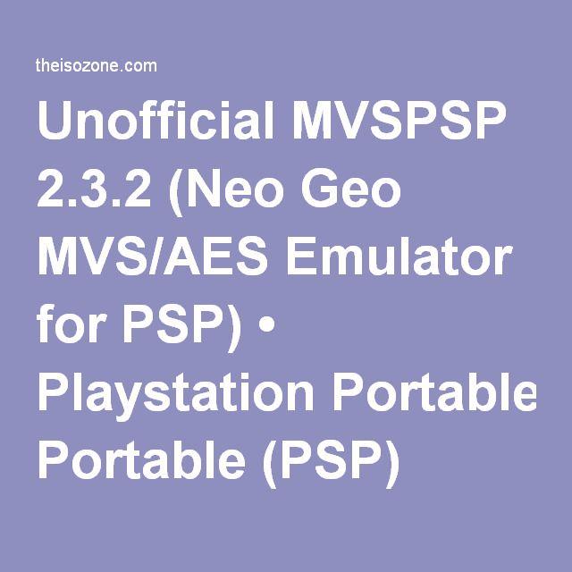 3ds Neo Geo Emulator