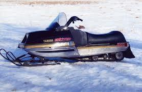 Yamaha Yamaha Vintage Sled Snowmobile