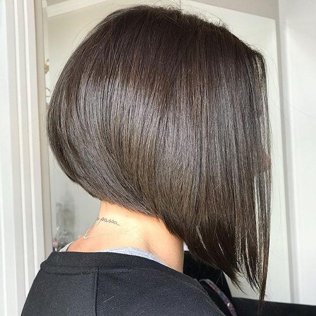 44 Beste Bob Frisuren Hinten Angeschnitten In 2020 Bob Frisur Haar Styling Haarschnitt Bob