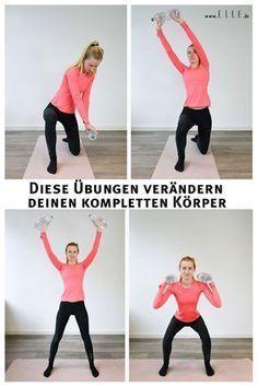 Diese zwei Bewegungen verändern deinen kompletten Körper   ELLE #fitnesschallenges
