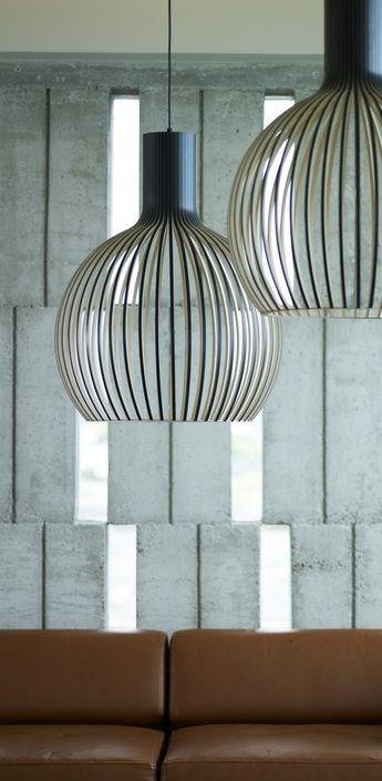 Suspension Octo suspension octo noir h68cm secto design normal | luminaires | pinterest
