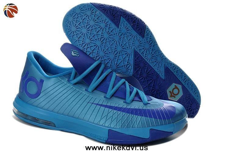 best website 604d4 f7d1b Kevin Durant Shoes Nike Zoom KD 6 Low 599424-810 Royal Blue For Wholesale