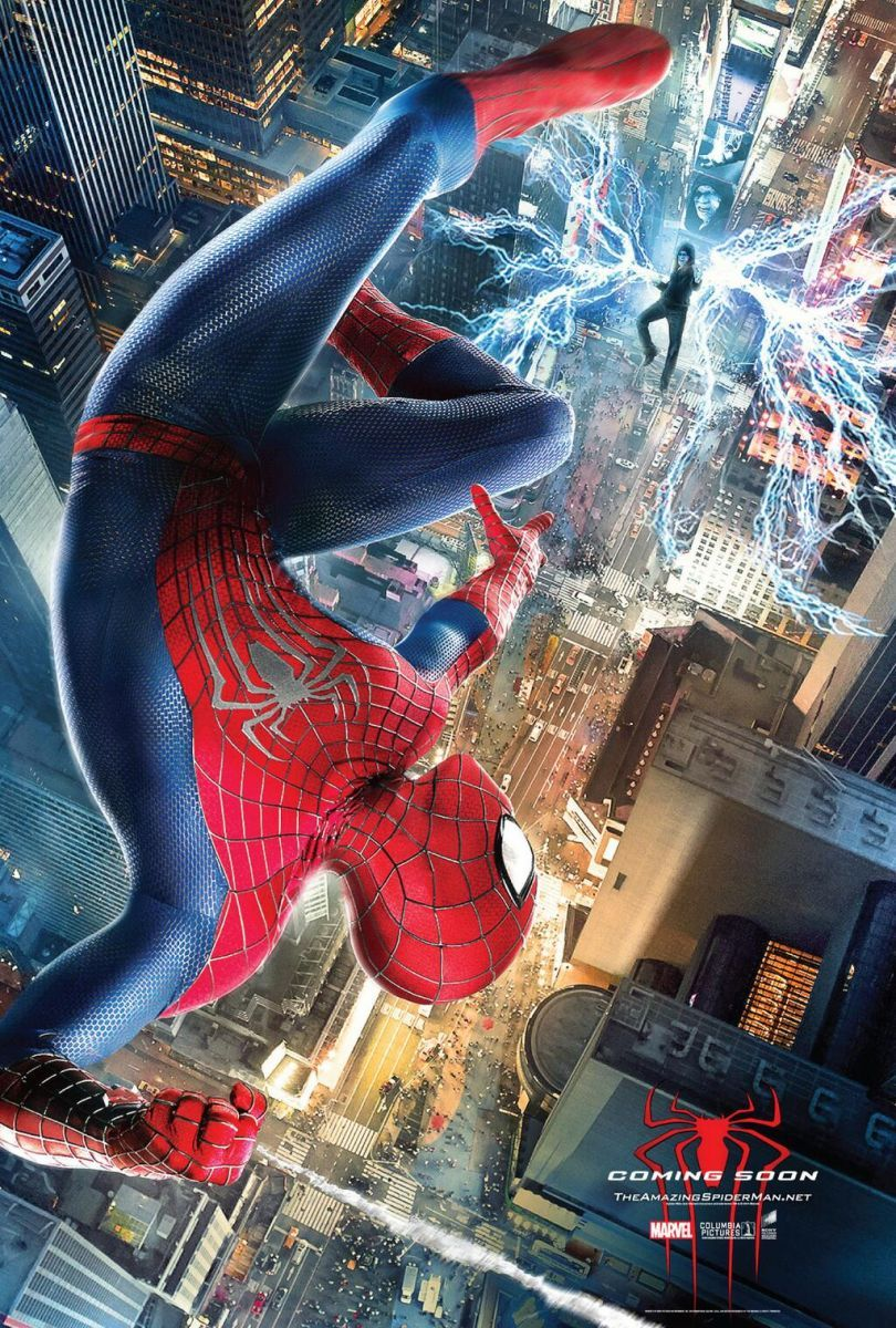 Epic New The Amazing Spider Man 2 Poster Amazing Spiderman Spin Spiderman