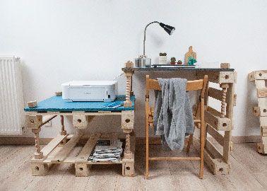 Des meubles en palette à transformer comme on veut meubles en