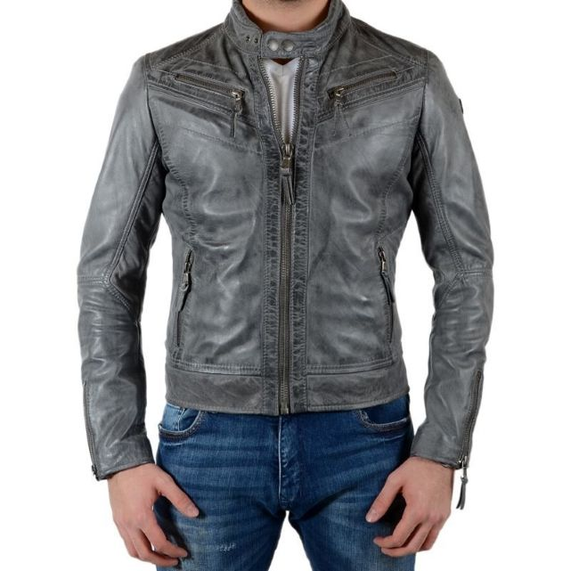 Manteau redskins gris