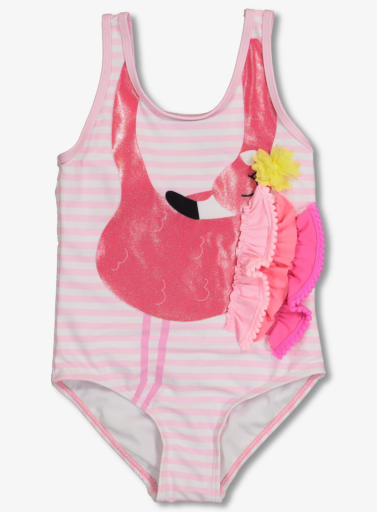 4da458cacba04b Pink Flamingo Swimsuit (18 months-10 years) |