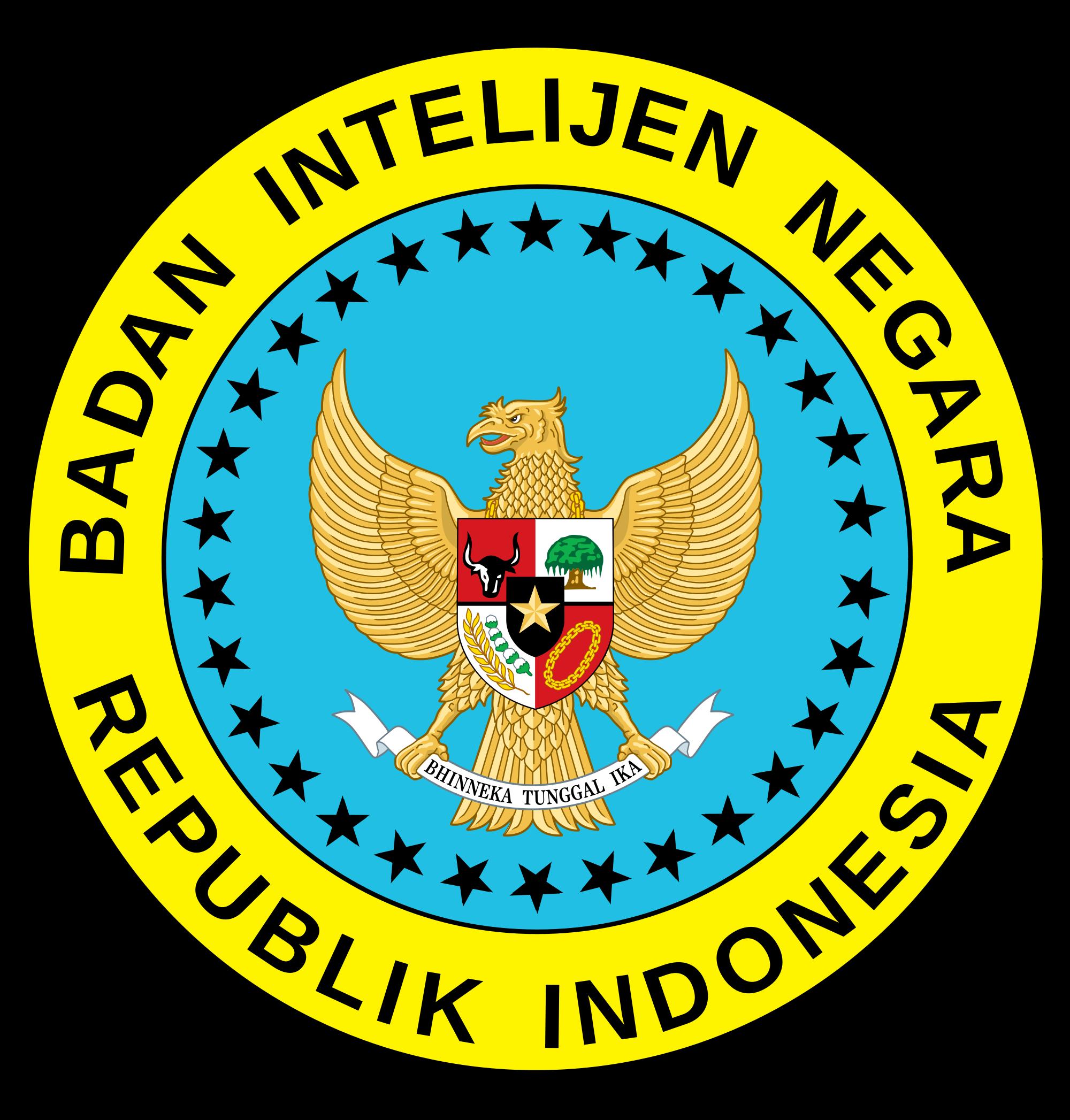2000px The National Intelligence Agency Indonesia Svg Png 2000 2094 Lambang Negara Gambar Indonesia