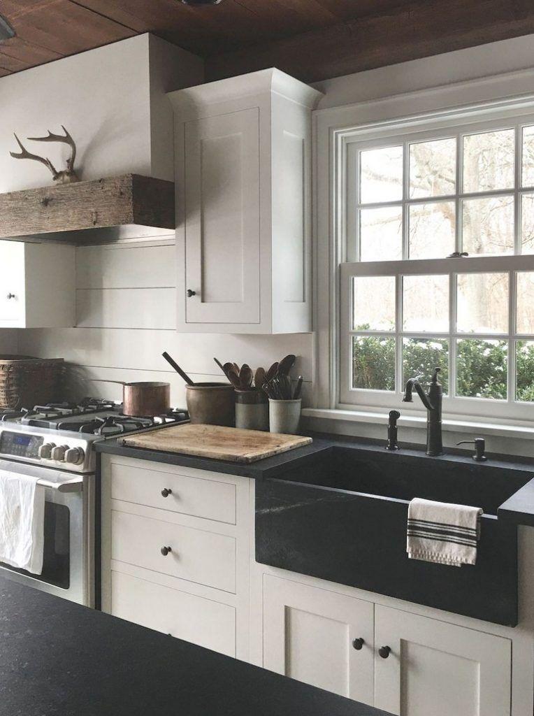 73+ Top Farmhouse Kitchen Sink Decor Ideas images