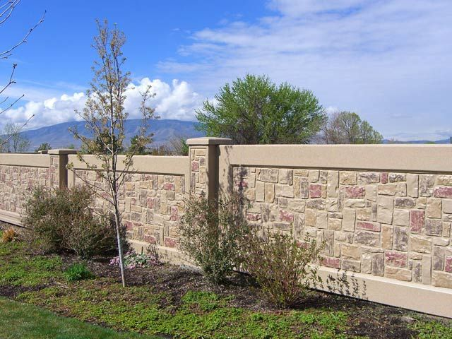 Precast Wall Concrete Fence Wall Privacy Walls Modern Fence Design