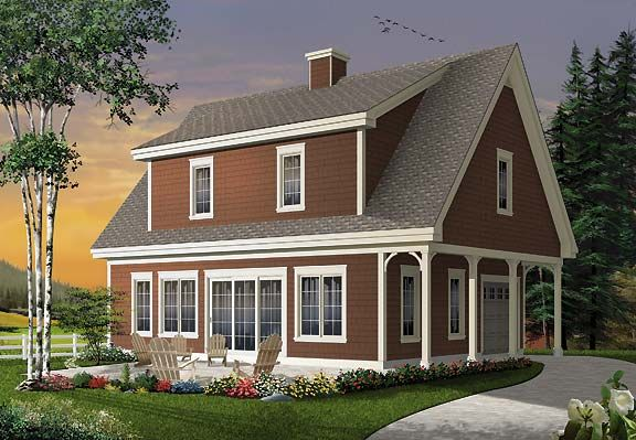 Here S A Modest Three Bedroom House Plan With Lots To Love A