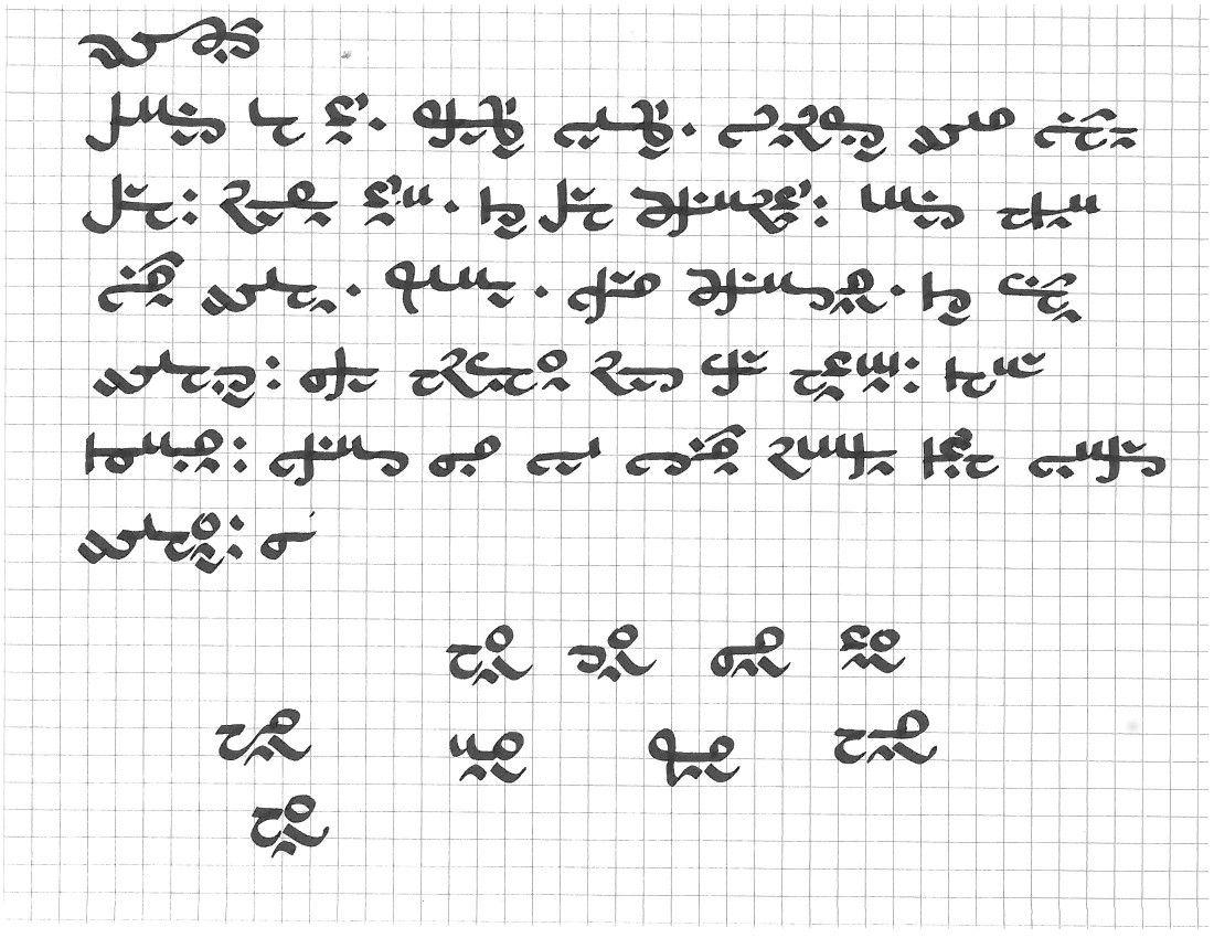 Tlaja Runic alphabet, Journal doodles, Alphabet