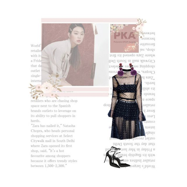 """""""  PKA : Red Carpet  """" by payneofficial ❤ liked on Polyvore featuring Dsquared2 and Ranjana Khan"""