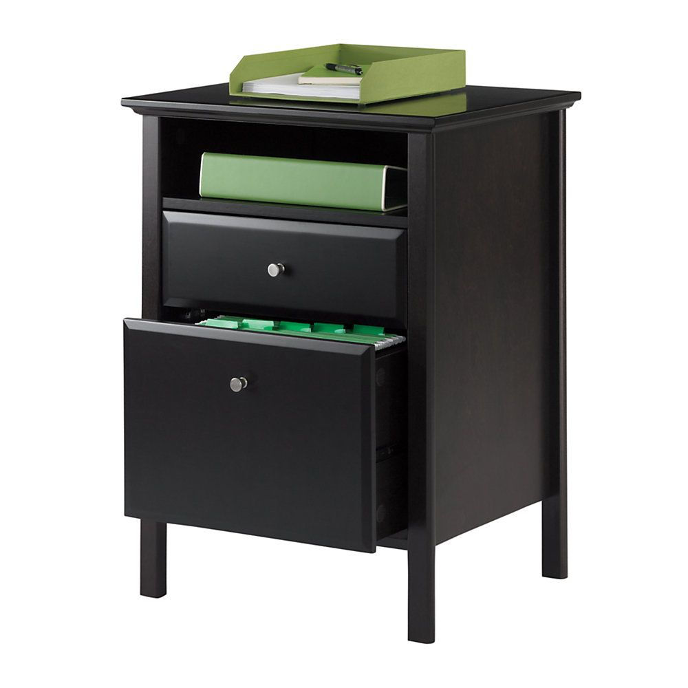 "Realspace Chase 2-Drawer File, 30""H X 21 1/2""W X 18""D"