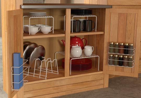 8 Practical Solutions To Organize Your Kitchen Cabinets
