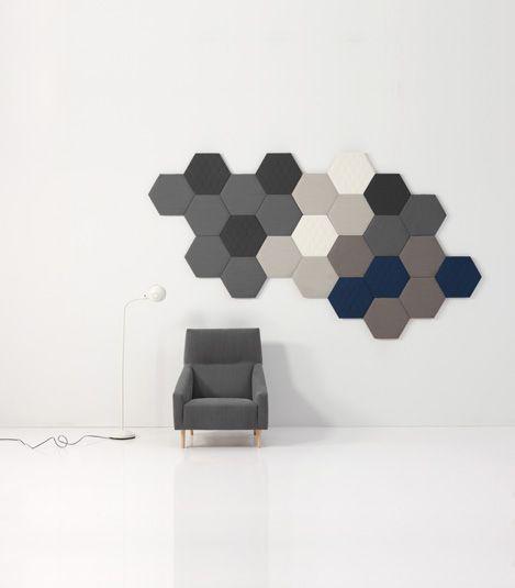 Sancal hexagon acoustic panels