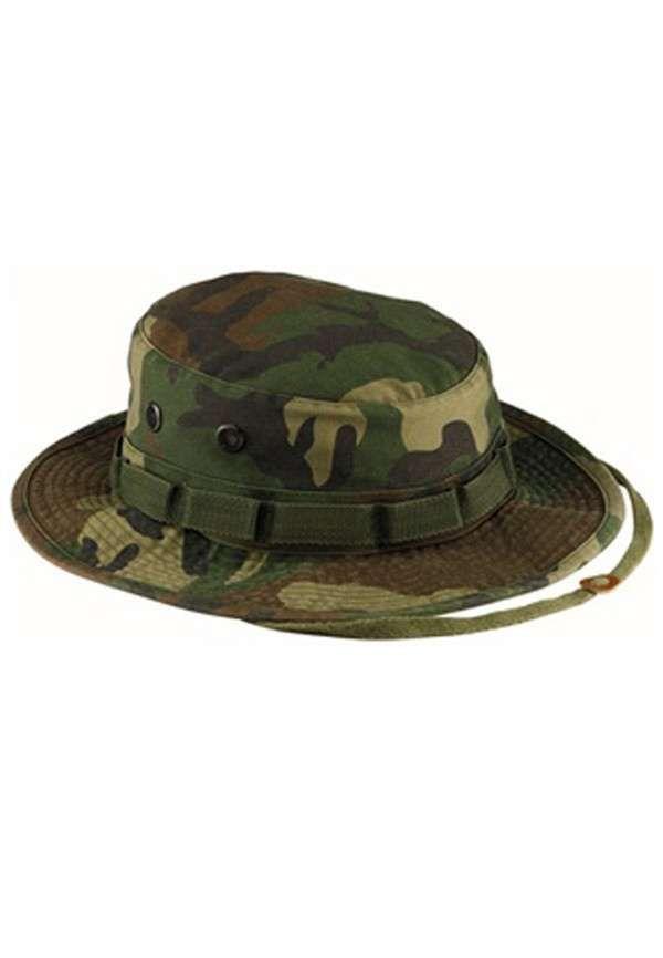 e04190b712b Woodland Camouflage Vintage Boonie Hat