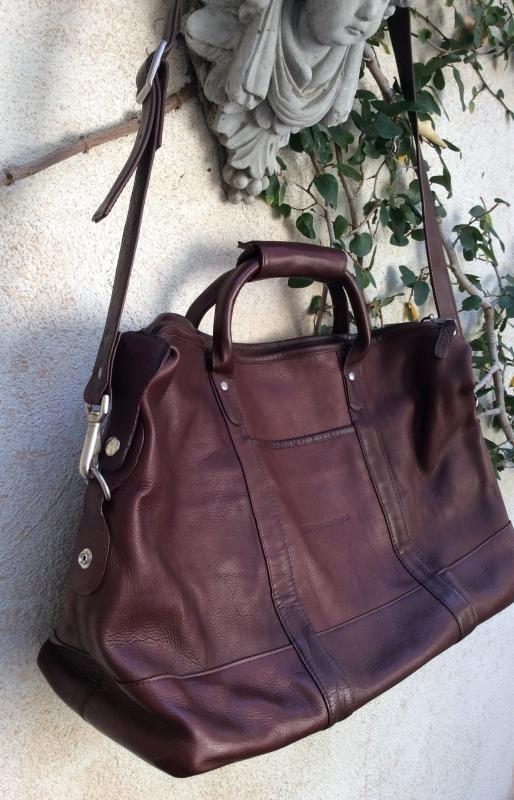 Latico Leather Carryon Luggage Travel