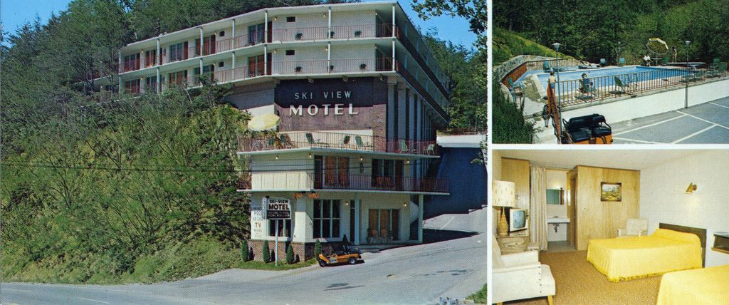 Ski View Motel Gatlinburg Tn Neat Old Picture This Place Isn