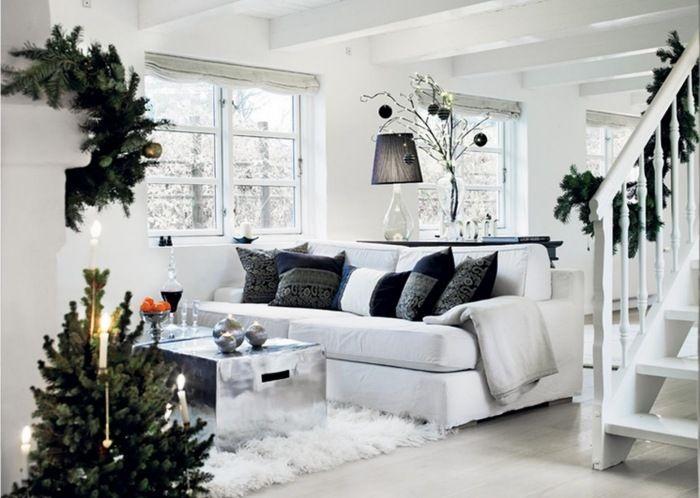 Skandinavische Weihnachtsdeko Ideen Frs Wohnzimmer