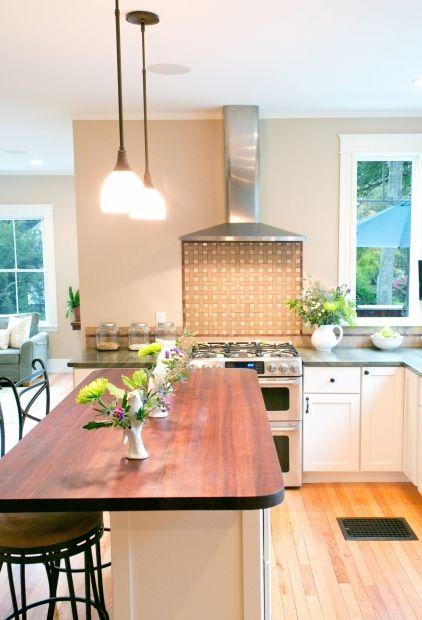 brown, taupe, white, green - kitchen Beige Pinterest Green
