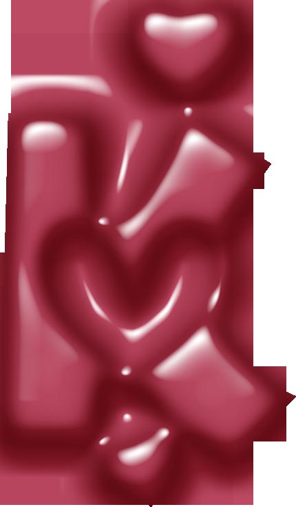 Abecedarioscom Corazon Letras Y Tipografías Abecedario
