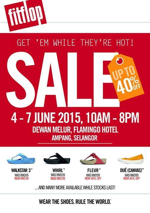 4-7 Jun 2015: Fitflop Warehouse Sale